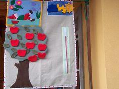 Huszárkriszta....kreatív textilvilága....: Évszakos falikép