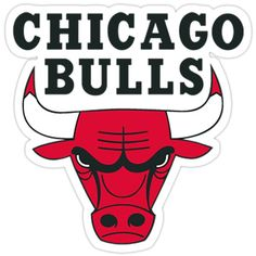 Tumblr Stickers, Cool Stickers, Laptop Stickers, Brand Stickers, New Sticker, Logo Sticker, Logo Chicago Bulls, Bull Logo, Aesthetic Stickers