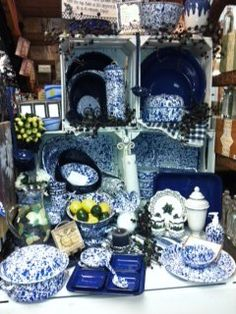 Enamelware...goes straight from oven to the table, and cleanup is a breeze.
