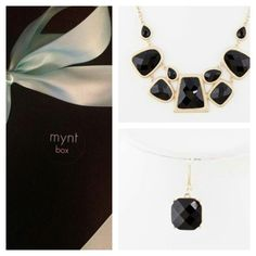 Get a box once a month for ONLY 30 dollars at www.myntbox.com! #jewelry #accessories #womesfashion