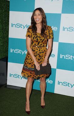 Michaela Conlin Photos Photos - Actress Michaela Conlin arrives at the Annual InStyle Summer Soiree held at The London Hotel on August 2011 in West Hollywood, California. Bones Angela, Hilary Duff, West Hollywood, Hollywood California, Michaela Conlin, Fox Tv, London Hotels, Paramount Pictures, Satin Dresses