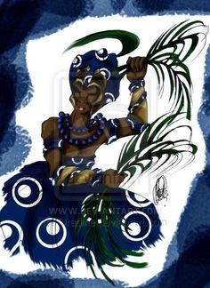 Mariwo de Ogum by Orádia N.C Porciúncula/ Licença Creative Commons 3.0 Atribuição - Uso Não-Comercial-Proibição de realização de Obras Derivadas CC BY-NC-ND