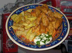 Fish and Chips (Fish'n'Chips) Риба та картопля-фрі (класична англійська кухня)