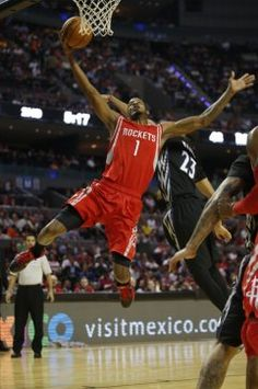 Houston Rockets  Trevor Ariza (1) attempts to make a basket as Minnesota  Timberwolves b7595e891