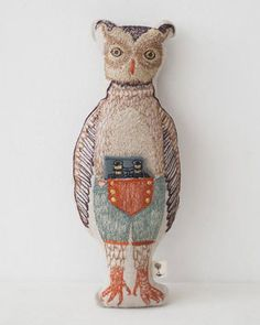 CORAL&TUSK POCKET DOLLS ポケット付ドール(OWL)