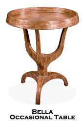 Artifacts International // Wood Occasional Tables