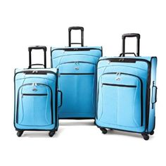 47f6ed1b60 American Tourister Luggage AT Pop 3 Piece Spinner Set