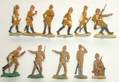 1900/ Sandow/ Kolonial - Infanterie Deutsch-Ostafrika kämpfend 30 mm SB | eBay