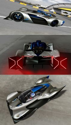 Alpine Vision Gran Turismo Concept Design Sketch Renders by Bertrand Grisard - Car Body Design