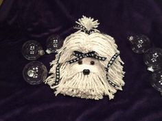 Mop Puppy Dog  Havanese  Shih Tzu  Maltese  by MopDogsandCrafts, $16.00