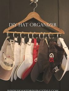organizing hats made easier! Might go get this done ummmm right now?!!