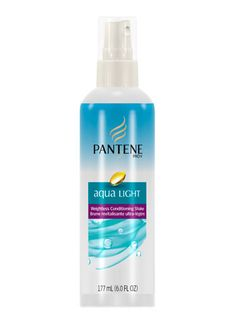 Pantene Aqua Light Weightless Conditioning Shake: Not only will the bi-phase blend loosen pesky knots, but it will also protect hair from hot-tool damage  $6.27; walmart.com #lazygirl #hair