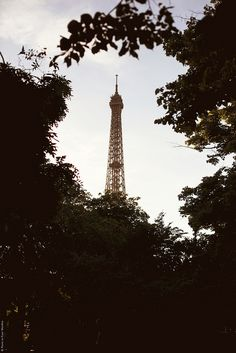 {Paris.} Eiffel Tower.