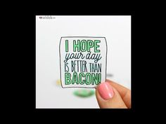 Better Than Bacon! - Stop Motion Animation by Rachel Ryle - YouTube