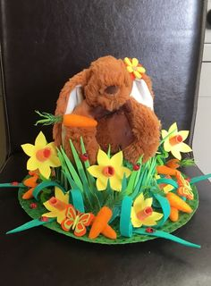 Handmade/handcrafted Easter Bonnet 'Just Chillin at Easter' in Home, Furniture & DIY, Celebrations & Occasions, Other Celebrations & Occasions | eBay!