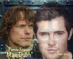 #Outlander #S3 #LordJohnGrey #JamieFraser #a.k.aMacDubh #Ardsmuir @samheughan #DavidBerry credit background pic is @jongarysteele