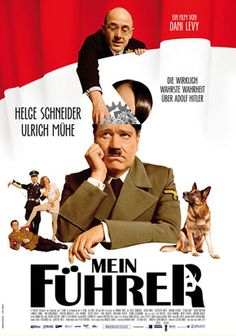 This film is made by a German director. I found this picture after reading a paper by Anna Baumert et al. Analyzing this pic with the paper's context in mind is interesting because the movie 'humanized' Hitler as he also has weakness. This implicitly explains how German audience cope with Schlussstrich mentality.