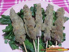 Arrosticini panati agli spinaci  #ricette #food #recipes