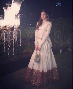 Athiya Shetty at Masaba Gupta, Madhu Mantena's wedding reception. #Bollywood #Fashion #Style #Beauty #Desi