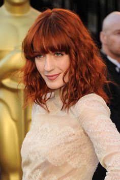 Florence Welch- damn I love her hair