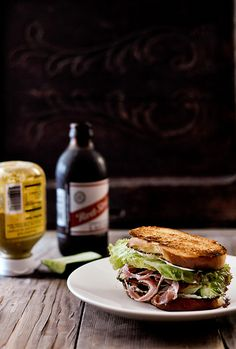 Lamb Pastrami Sandwich