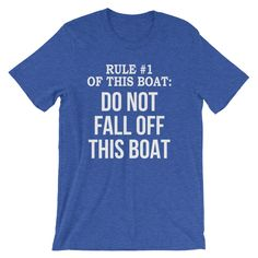 Funny Cruise Ship T Shirt, Sailing Dad Gift, Family Cruise Trip, Boat Shirt, Fisherman, Captain, Fishing Boat, Short-Sleeve Unisex T-Shirt http://etsy.me/2FOSv8L #clothing #shirt #boatshirt #cruisingtrip #fishingboat #cruisevacation #cruisegift #populartshirt #boating