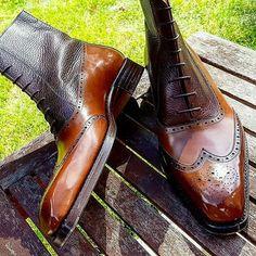 Das Boot  #bespoke #boots #classic #dandy #dapper #fashion #footwear #highend #igstyle #luxury #luxuryfootwear #sprezzatura #vass
