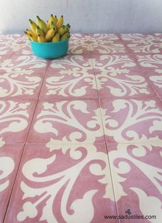 Sadus Tiles handmade cement tiles from Bali Sidemen