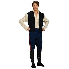 Star Wars - Han Solo Deluxe Halloween Costume - Adult Standard One Size