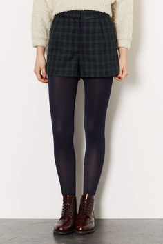 Green Lightweight Check Shorts - New In This Week - New In - Topshop