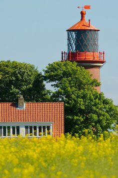 Staberhuk #Lighthouse, Fehmarn, #Germany