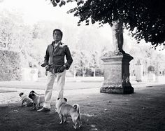 Famous people (Valentino) + Dogs