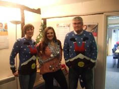 Meet our education consultants in Maidstone - love the jumpers! #XmasJumperDay