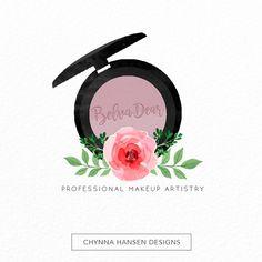Premade Logo Design Makeup Artist Logo от ChynnaHansenDesigns