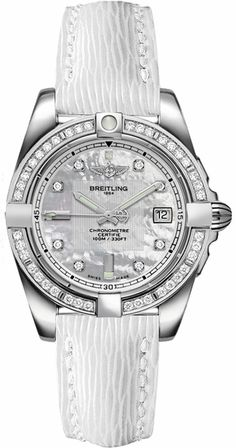 / Breitling Galactic 32 Ladies Watch Sale - Design for Life Sport Watches, Cool Watches, Watches For Men, Popular Watches, Ladies Watches, Stylish Watches, Wrist Watches, Patek Philippe, Breitling