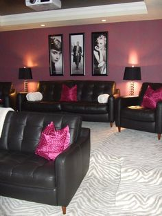 Forget a man cave.....give me a woman cave...lol