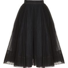MARTIN GRANT Ballerina Tulle Skirt found on Polyvore