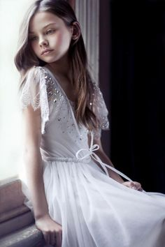 Flowergirl dress... Tutu Du Monde / Wedding Style Inspiration / LANE