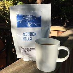 Love when Aussie cousins visit & bring treats like this delish @reubenhills Brasil Lovely Kalita to start the day!