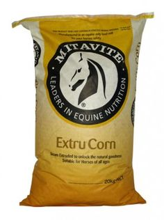 Mitavite Extru-Corn 20Kg - Mitavite Extru Corn has been steam extruded to form a highly digestible, dust and toxin free energy source, suitable for all horses.