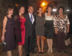 Honoree, Frank Devito, M.D. and family