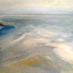 The sea touching the coast, Nelly Van Nieuwenhuijzen Original Art, Original Paintings, Italian Artist, Saatchi Art, Coast, Waves, Van, Dutch, Landscape