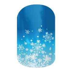 Let it Snow  nail wraps by Jamberry Nails