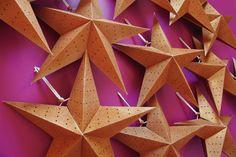 Frankincense Glitter Blast Paper Star Lantern #holiday #decorations