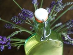 Lavender Simple Syrup Recipe for drinks Wheat Wedding, How To Make Your Own Recipe, Lavender Syrup, Room Scents, Culinary Lavender, Ice Cream Base, Lavender Garden, Lemon Cupcakes, Backyard Farming