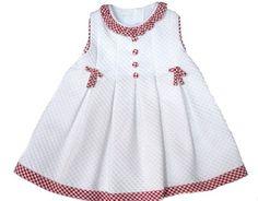 vestido pique bebe                                                                                                                                                                                 Más