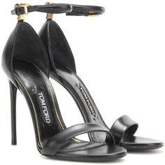 d13f7bf4db18 Tom Ford Embellished Leather Sandals ( 1