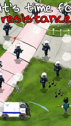 Gezi Parkı direnişi #iPhone oyunu oldu. #direngezi adlı oyunun detayları haberimizde.