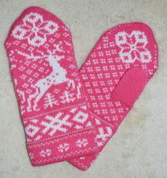 norwegian style mittens