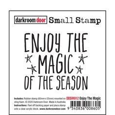 Darkroom Door rubber stamps are mounted on cling foam. Suitable for card making, art journals, mixed media and more! Darkroom Door rubber stamps are known for their durability, deep etching and high image detail. Embossing Powder, Great Friends, Clear Acrylic, Card Making, Magic, Messages, Doors, Mixed Media, Stamps
